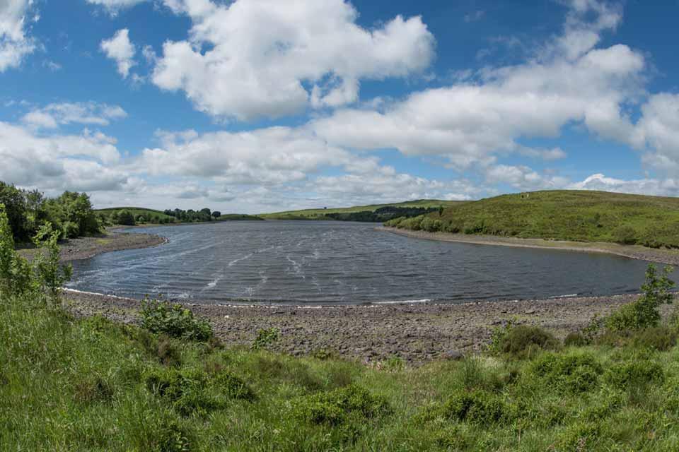 Killington Lake Reservoir 6 miles from East Catholes Farmhouse