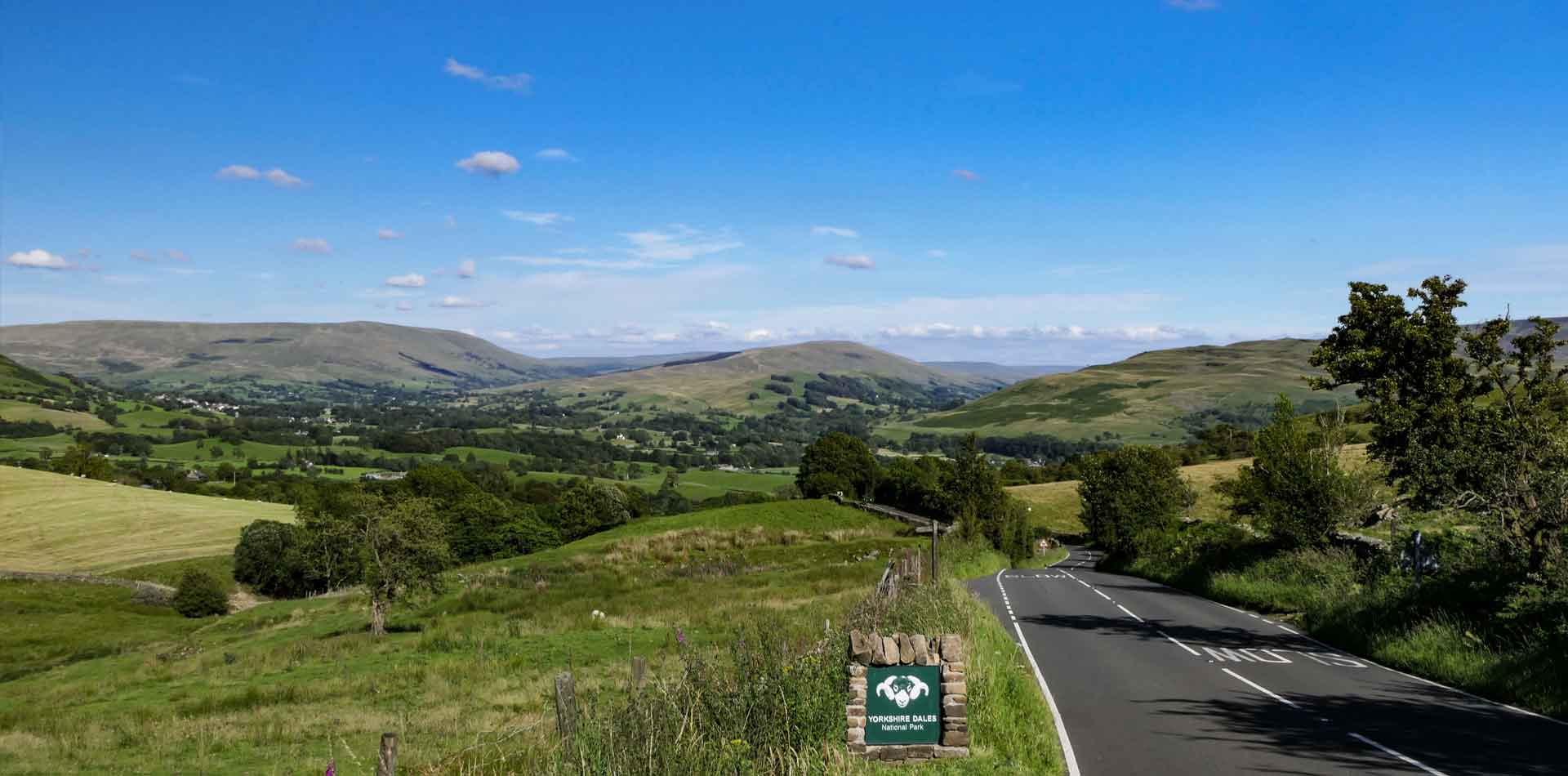 """As I drive into Sedbergh, I never tire of that view… coming down off the M6 and round that sharp right turn, with the valley stretched out before me, and the Howgills greet me – a glorious set of mountains."""